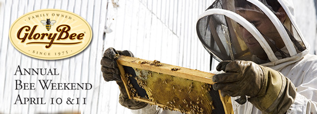 Annual Bee Weekend - Friday April 10th and Saturday April 11th