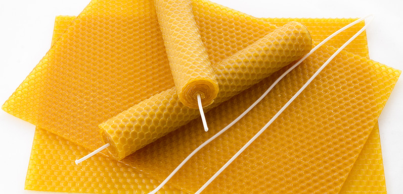 Roll Your Own Beeswax Candles
