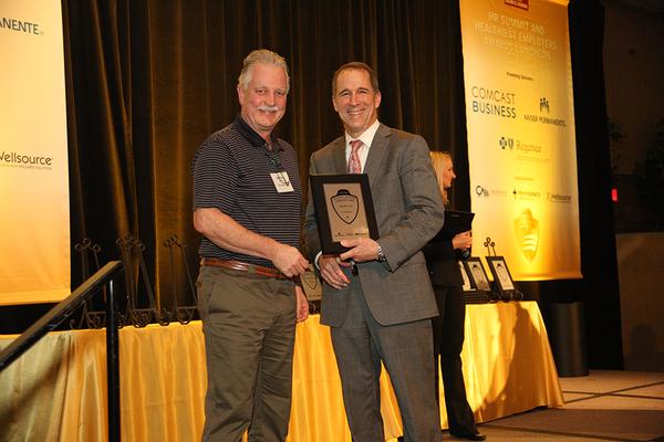 GloryBee Wins Healthiest Employers Award