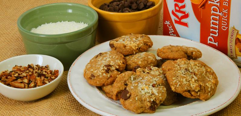 Aunt Patty's Pumpkin Spice Cookies