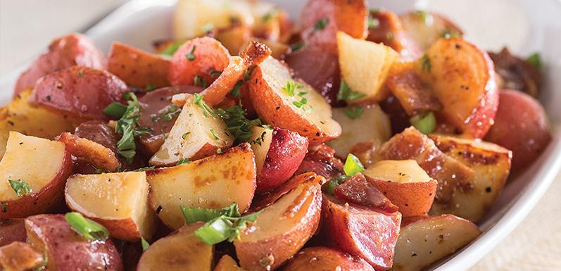 Warm Potato Salad with GloryBee Honey Dressing