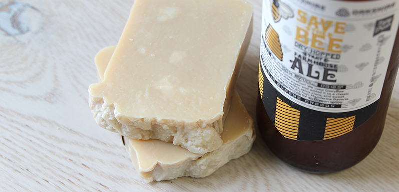 Save The Bee Beer Soap