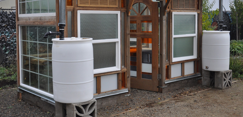 How to make a rain barrel for stormwater catchment