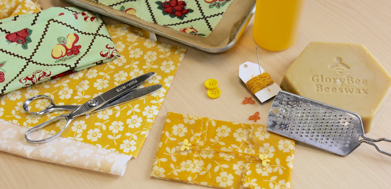 Reusable Cloth & Beeswax Food Wrap