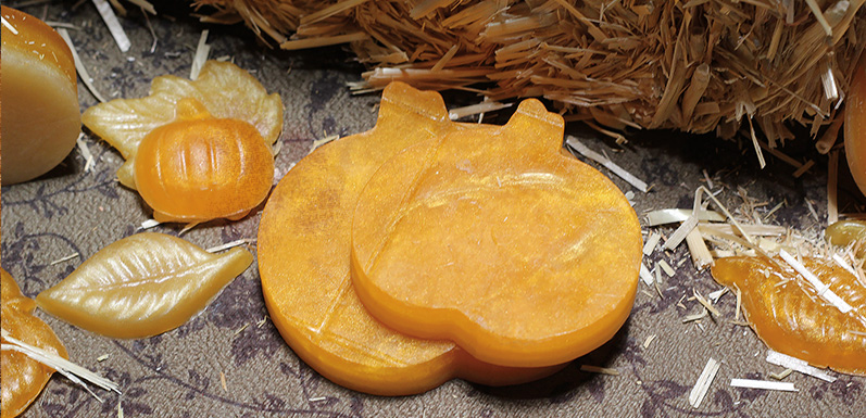 Layered Pumpkin Melt & Pour Soap