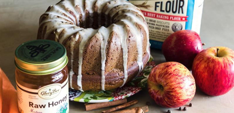 Rosh Hashanah Honey Cake (Lekach)