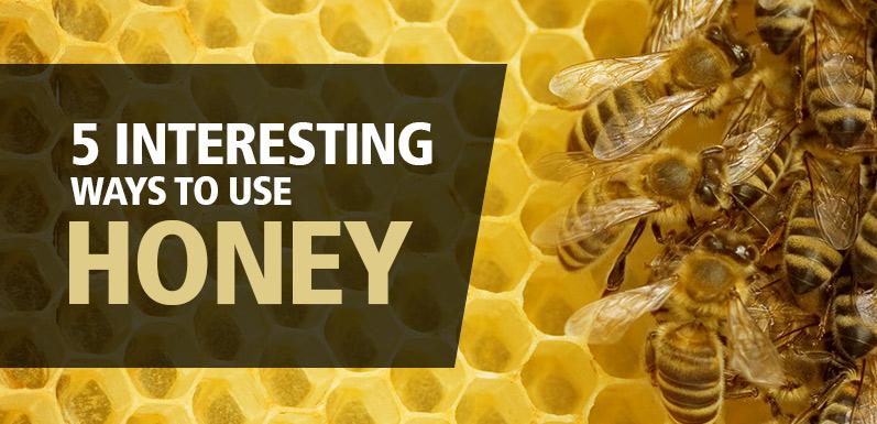 Golden Goodness: 5 Interesting Ways to Use Honey