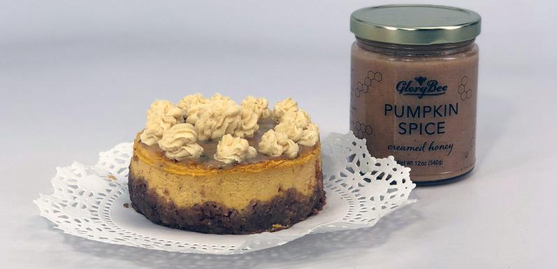 Pumpkin Honey Cheesecake