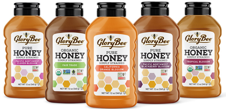 GloryBee Introduces Simply Strained Honey Line.