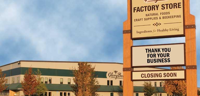 Factory Store Closure